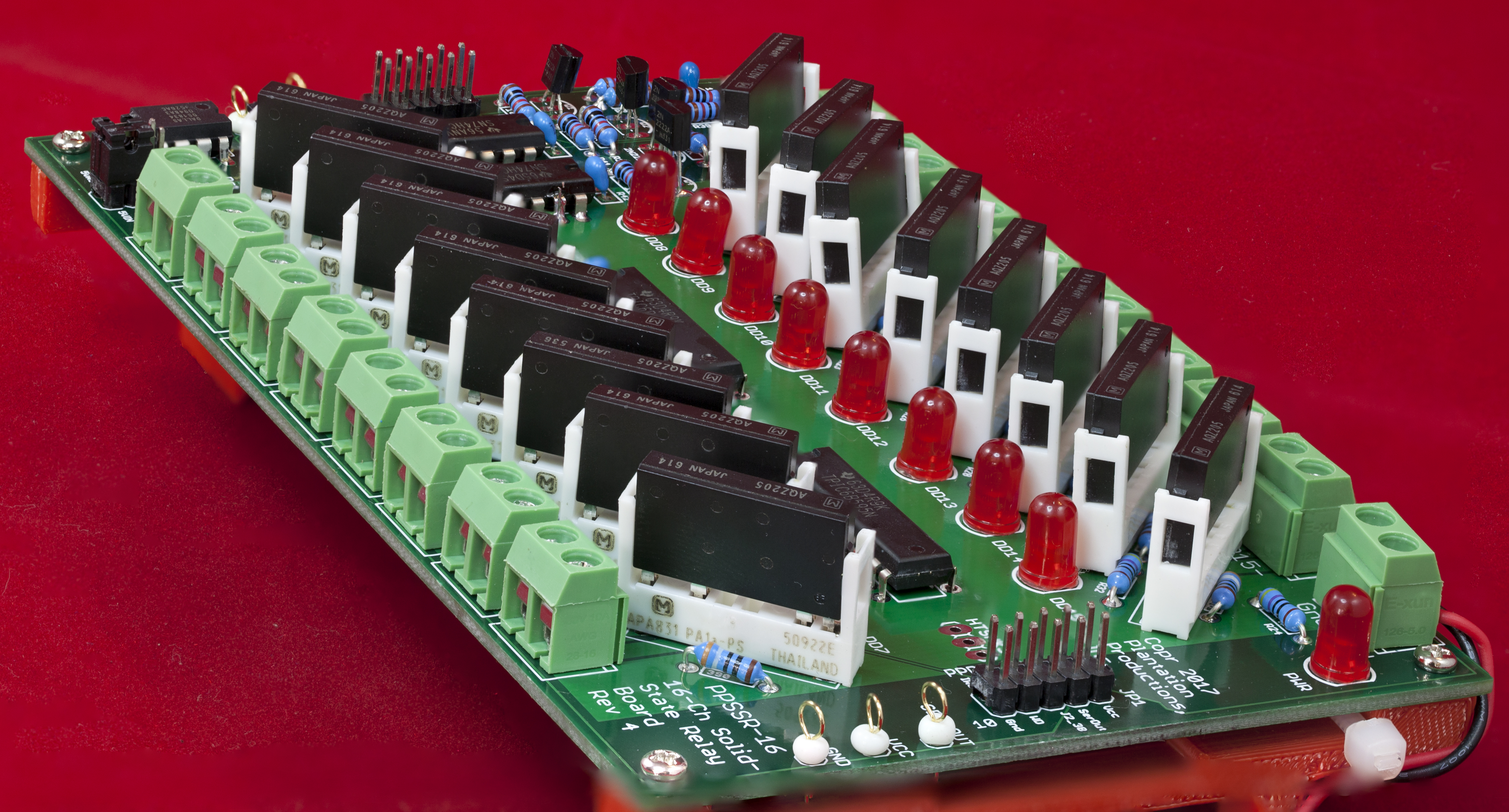 PPSSR-16 16-channel solid-state relay module